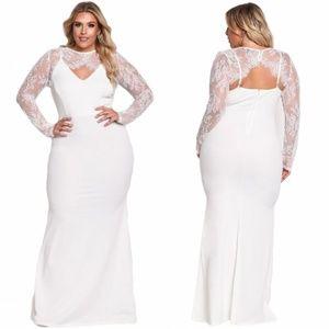 Dresses & Skirts - Plus Size White Maxi Dress